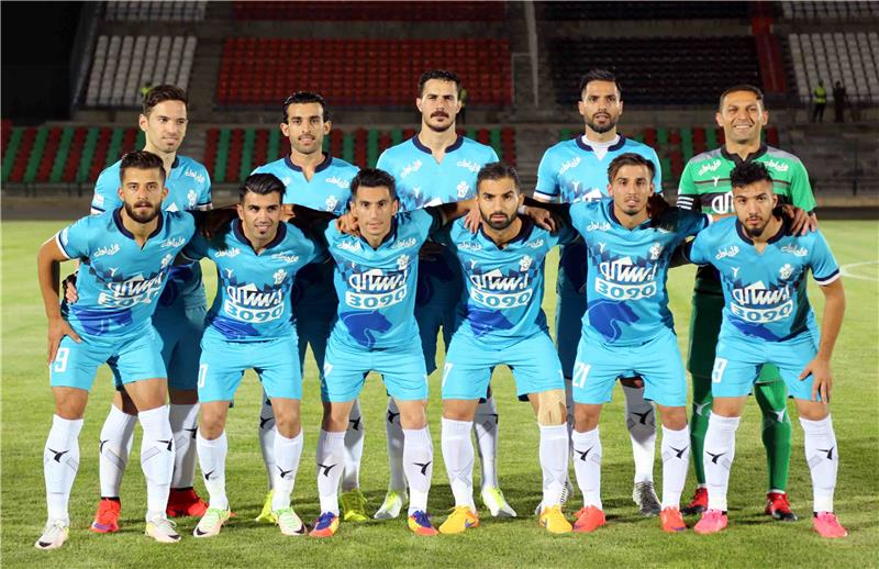 home victory of paykan's football team VS foolad khoozestan.