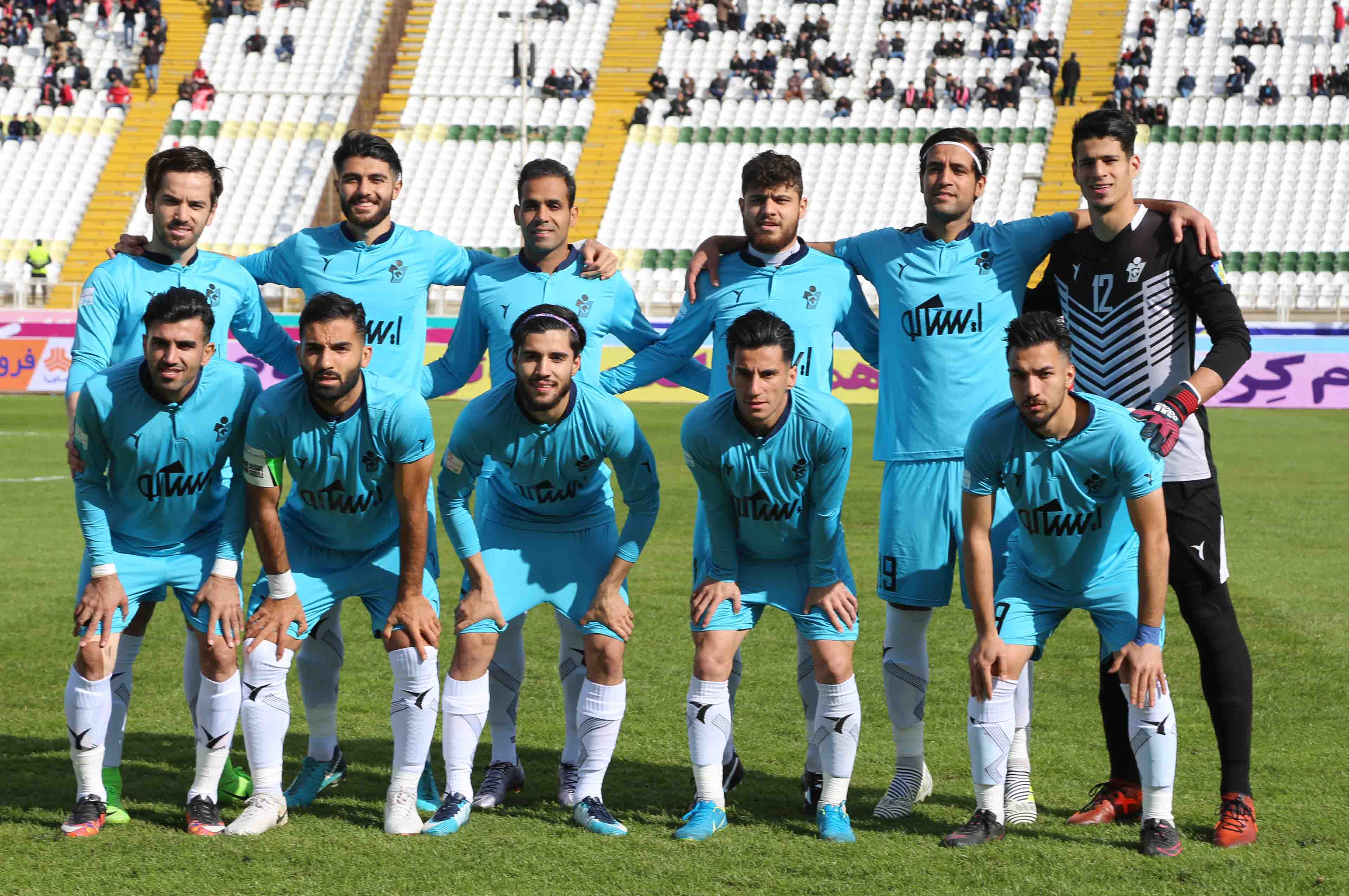 in the end of Iran's football proleague competitions Paykan stand in 6th rank of table.